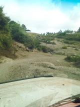 The terrain getting to the farm