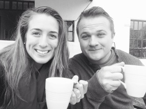 Morning coffee with my love