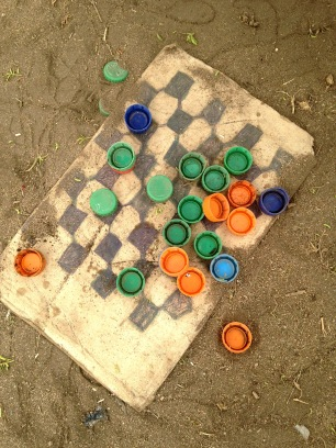 clever game of checkers-african style