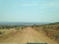 Driving through TZ