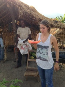 Papaya from our land...so delicious!