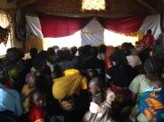 Local wedding in the village