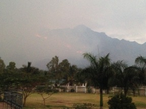 Seasonal fires in Morogoro
