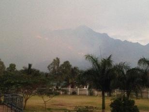 Seasonal fires in Morogoro