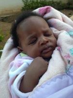Baby Christine in Mumba