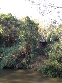 Iringa - zipline at the Moyers
