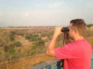 Lookout view at the hotel/ 'zoo' in Mbeya