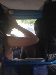 bajaji ride to the beach