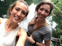Ngare Sero Lodge - Rachel and I
