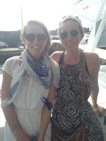 On the ferry heading to Zanzibar
