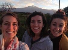 Kilimanjaro at sunrise on the way to Dar
