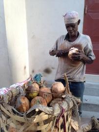 Coconut Man - Stone Town, Zanzibar