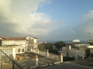 View from our hotel in Stone Town