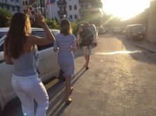 Walking through Stone Town
