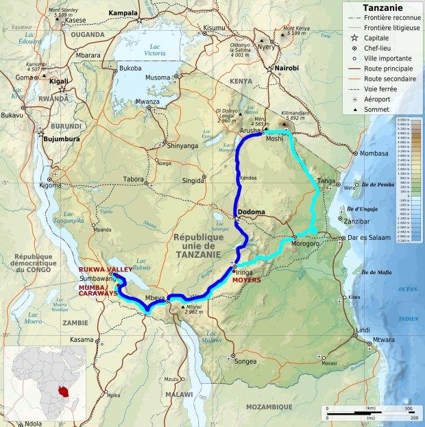 Tanzania_map-fr