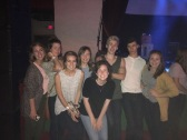 Sisters and young friends at a concert