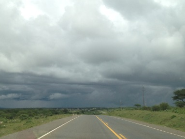 Driving home from Kenya