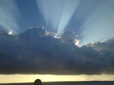 Sunrise from Zanzibar to Dar