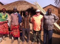 Dad in the Rukwa Valley visiting Ted's friends