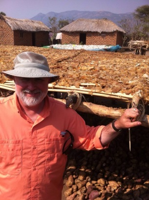 Dad in the Rukwa Valley
