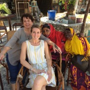 Henna in zanzibar from these ladies