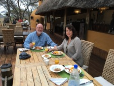 Breakfast on safari at Swala Tented Camp