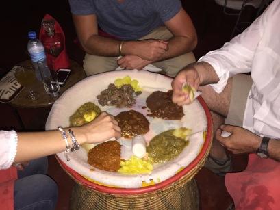 Ethiopian Dinner in Dar