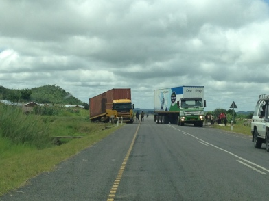 Not a proper TZ road trip without a few broken down trucks blocking the road ;)