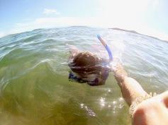 Snorkeling at Lake Tanganyika
