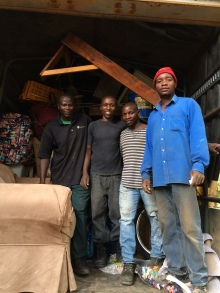 Packing Crew and Truck - Arusha