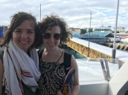 My super cute sisters on the ferry