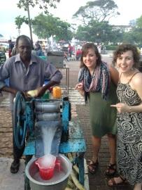 Fresh sugarcane juice - Stonetown