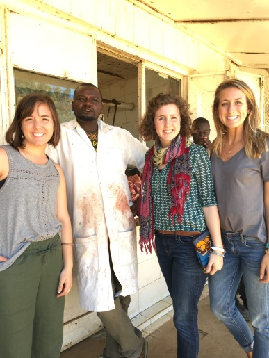 This guy was trying to bargain Colton to Mary my sister....so we bought some meat from him and took a picture...win/win. haha