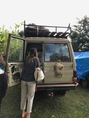 Packing the car for Rukwa