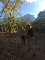 Hiking behind Colton's childhood home - Rukwa Valley