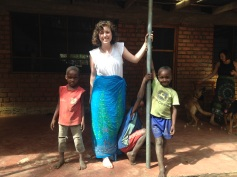 Hanging with the kids - Rukwa Valley