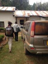 Arriving home after 6hrs of driving from Mbeya