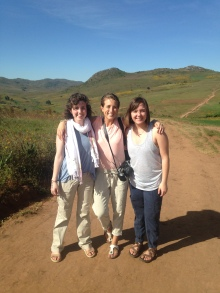 Hiking with my sisters