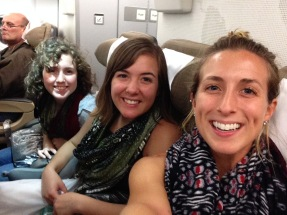Ready for take-off! US bound!
