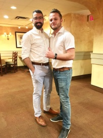 Older brother and Colton at the rehearsal dinner looking very handsome!