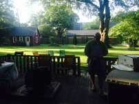Summer Grilling on the porch