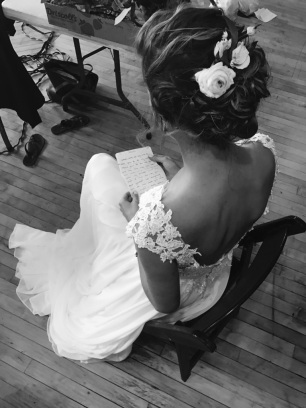 Everything about her wedding was perfect