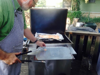 Summer grilling - Salmon