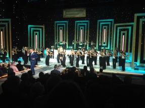 All the sisters we went to the Miss Oklahoma Pageant in Tulsa