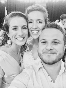 Me, the bride and Colton