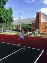 Tennis with the fam!