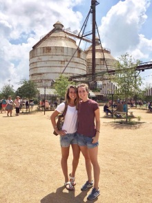 Happy to be back together in the US! - Magnolia Market, Waco, TX