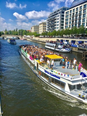 Party boats in Berlin!