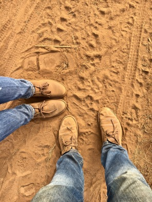 Matching shoes :)