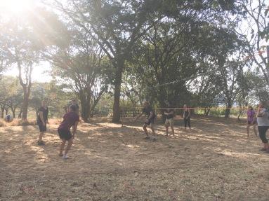 Volleyball after language school - Iringa, Tanzania